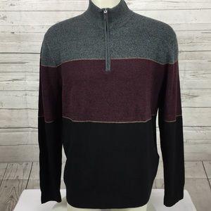 NWT Dockers 1/2 Zip pullover Lightweight Sweater